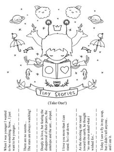 Beautiful words for the taking from 'hitrecord.org's' tiny book of tiny stories