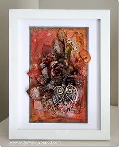 Mixed Media fundraising piece for charity auction.