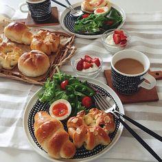 instagram I Want Food, Cute Food, Good Food, Yummy Food, Kawaii Cooking, Morning Food, Aesthetic Food, Breakfast Recipes, Food Photography