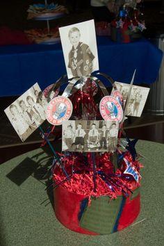 Eagle Scout Ceremony Centerpieces