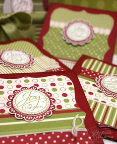 Stampin' Up!, Christmas Cards, Stamp A Stack, Quick, Easy, Sizzix, Teneale Williams