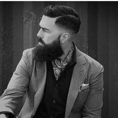 When elegance meets a beard, this happens. Well done. #staybearded…
