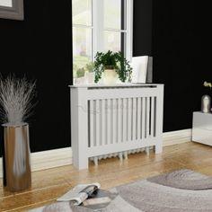 Biely kryt na radiátor z MDF 112 cm