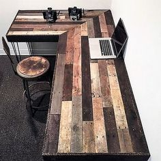 pallet laptop table