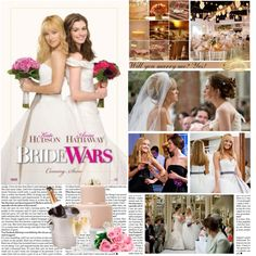 MOVIE PASS: Bride Wars by itshanilove on Polyvore featuring art