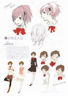Shigenori Soejima - Persona 3 Portable Female Protagonist (Concept Art)