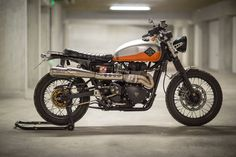 My Triumph Scrambler 2008 EFI, with TTP Map/ modified airbox/ 520 chain and sproket/  Down&Out seat and mud guard +few home made parts.