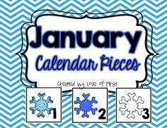 by Love of First Pre-Kindergarten – Grade These colorful, printable January calendar pieces are the perfect addition to your classroom calendar. There are three different gr… Kindergarten Calendar, Classroom Calendar, Kindergarten Rocks, Kindergarten Classroom, January Calendar, Calendar Time, Free Calendar, January Month, Calendar Ideas
