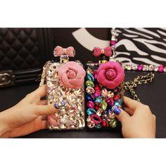 étui Chanel iPhone 6S,Housse coque Strass pour iPhone 6S