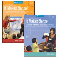 It Makes Sense! Series - A wealth of teacher support in building number sense!