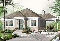 Plan de maison no. W3124 de dessinsdrummond.com