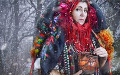 Carpathian Shamans (Hustul) - Ukraine Molfar & Polish Whisperer's Magical Rites  (Elder Mountain Artist Residency)