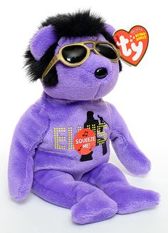 Purple Beanie Bear | was also a blue your teddy bear and a red your teddy bear in this ...