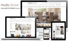 New Responsive Ecommerce for Pacific Lifestyle