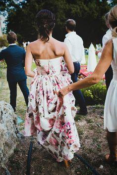 15 Floral Wedding Dresses | Alternative Wedding Dresses | Bridal Musings Wedding Blog 3