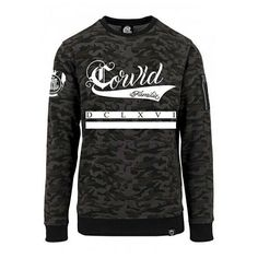 """""""Corvid"""" Camo Bomber SweaterPart of our Winter 2016 Collection - coming soon at www.crmc-clothing.co.uk #alt #altwear #altfashion #altstyle #alternative #alternativefashion #alternativestyle #winter2016 #fashionstatement #winter #fashionista #winter #winteriscoming #winterwear #bomber #sweatshirt #sweaterweather #calligraphy #camo #bomberjacket #camosweater #style #alternativeguy #alternativeboy #alternativegirl #alternativeteen #hoods #dclxvi #sixsixsix"""