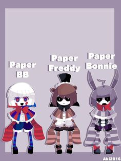 FNAF GIJINKAS PART 6 by AkiAki-San.deviantart.com on @DeviantArt
