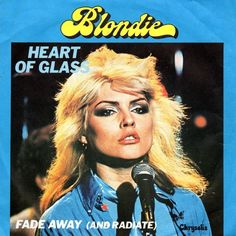 Debbie Harry, Blondie, Heart of Glass cover Blondie Albums, Blondie Heart Of Glass, Disco Songs, The Mccoys, Musica Disco, Blondie Debbie Harry, New Wave, E Mc2, Pat Mcgrath