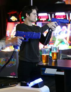 can I just say, i want to go to an arcade with him and laugh at all of his stupid jokes when he dies