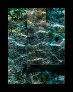 Paul Kenny - MAPPING THE SEABED - PATARA, TURKEY, 2015 - Beetles + Huxley at London Art Fair