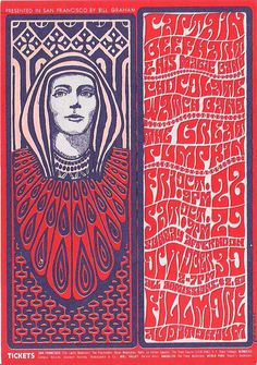 Capt. Beefheart at the Fillmore, 1966. Artist: Wes Wilson