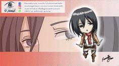 08. MIKAZA - Atack on Titan - ANIMEgirlsCHIBI