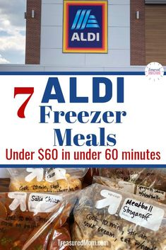 Instant Pot Freezer Meals from Aldi Easy Make-Ahead Freezer Meals on . - Instant Pot Freezer Meals from Aldi Easy Make-Ahead Freezer meals made from Aldi ingredients. Budget Family Meals, Budget Freezer Meals, Make Ahead Freezer Meals, Dump Meals, Cooking On A Budget, Freezer Cooking, Frugal Meals, Make Ahead Healthy Meals, Plan Ahead Meals