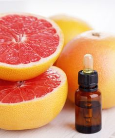 Grapefruit has been proven to shrink fat cells. This grapefruit essential oil and coconut oil mix is a natural remedy to solve the problem of cellulite.