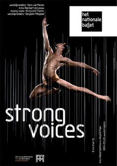 a series of posters in my ongoing work for the dutch national ballet (late summer 2010)
