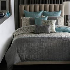 Bed Pillow Arrangement Ideas                              …                                                                                                                                                                                 More