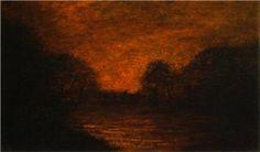 Pond in Moonlight by Albert Pinkham Ryder
