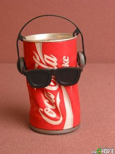 Coca Cola Dancing Can - The Coke can that would dance to music when played.