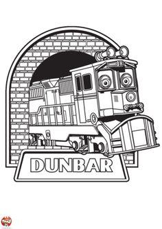Chuggington Birthday Train Party Coloring Trains Free Printable