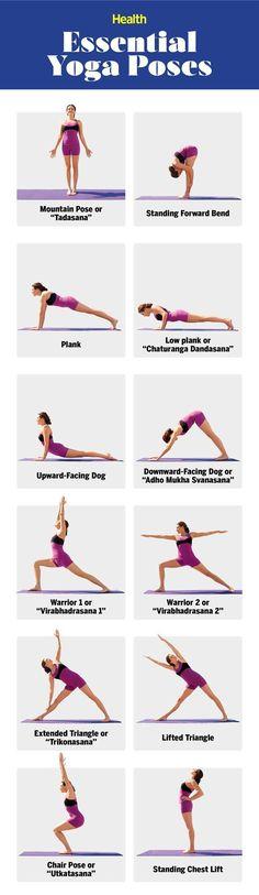 Essential Yoga POses
