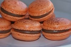 Mmmmmmm ... Chocolate Orange Macaroons.  Step by step instructions and photos.  ♥