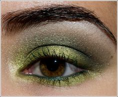 Good way to use up all my darker and midtone greens, which I have too many of...by Christine (Temptalia)