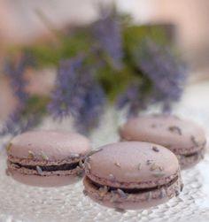 Lavender macarons. YUM! Lavender Macarons, French Cafe, Gelato, Cookies, Paris, Chocolate, My Favorite Things, Desserts, Food