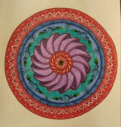 Adultcoloringpages Mandalas Coloringbooks Inspirations Finishedcoloring Brightcolors Coloring Crayola
