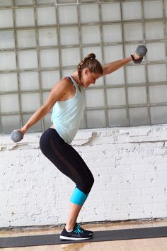 10 upper body exercises paired into a superset workout to blast and burnout your back, biceps, shoulders, chest, and triceps!
