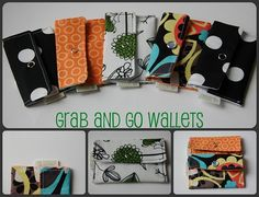 """grab and go"" wallets"