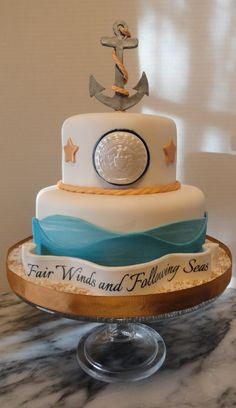 Cake requested for a friends Navy deployment