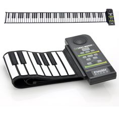 Flexible Roll Up Synthesizer Keyboard Piano with 88 Soft Keys and a loud built-in speaker for simple musical enjoyment. Become the next Mozart with this flexible roll up synthesizer keyboard piano, as Keyboard Lessons, Keyboard Piano, Piano Player, The Computer, Playing Piano, Music Activities, Rhythm And Blues, Music Therapy, Therapy Tools