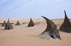 "serendipitousgirl: "" Libya, Sahara desert - a tuareg village in the Ubari lakes area """