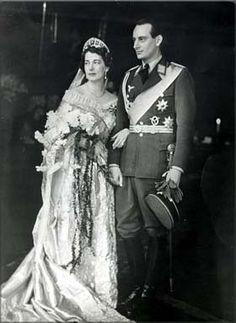 Seine Kaiserliche Hoheit Prinz Louis Ferdinand von Preussen, der letzte Chef des Hauses Preußen, anläßlich seiner Hochzeit mit Großfürstin Kira von Rußland am 4. Mai 1938.