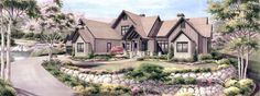 2013 Southern Living Inspired Home at Currahee Club   Dillard-Jones Builders   In Town   Lake   Mountains
