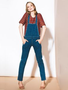 Indigo Windsor Overalls by loup for Of a Kind