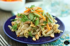 Chicken Pad Thai Family Friendly This IS family friendly -- I made it the other night and all of the kids ate it! And its made with ingredients you already have in your kitchen.