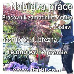 Nabídka práce v Čáslavi.