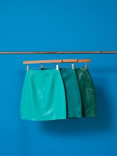 Vintage Leather/Suede Skirt | Vintage Skirts | Vintage's Women | American Apparel