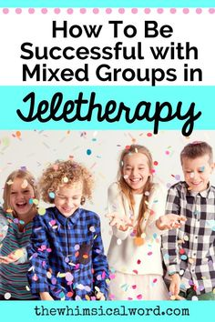 I share my tricks and tipsl when working with mixed groups in speech teletherapy! Articulation Activities, Speech Therapy Activities, Learning Activities, Speech Language Pathology, Speech And Language, Joanna Gaines, Leveled Reading Passages, Play Therapy Techniques, Speech Room